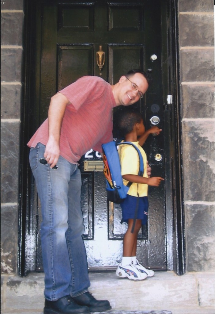 First Day at Mary Meyer School (Sept '04)